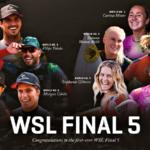 Rip Curl WSL Finals vai promover uma decisão inédita dos títulos mundiais com quatro brasileiros na disputa